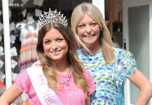 انتخاب مادر و دختر به عنوان ملکه زیبایی
