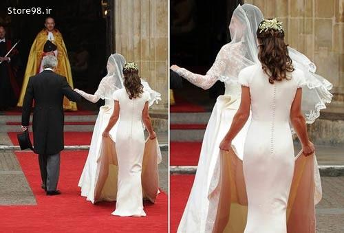 باسن تقلبی خواهر عروس در جشن شاهزاده
